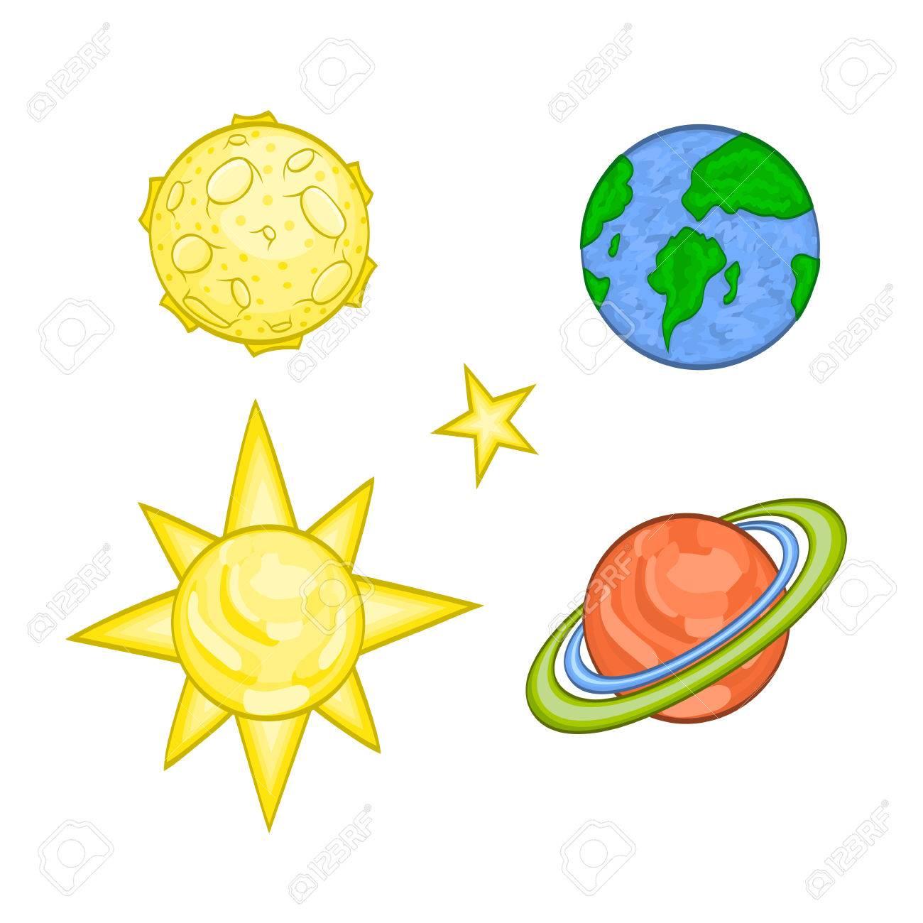 Planete Dessin Anime Vecteur Spatial Clip Art Libres De Droits Vecteurs Et Illustration Image 70903885