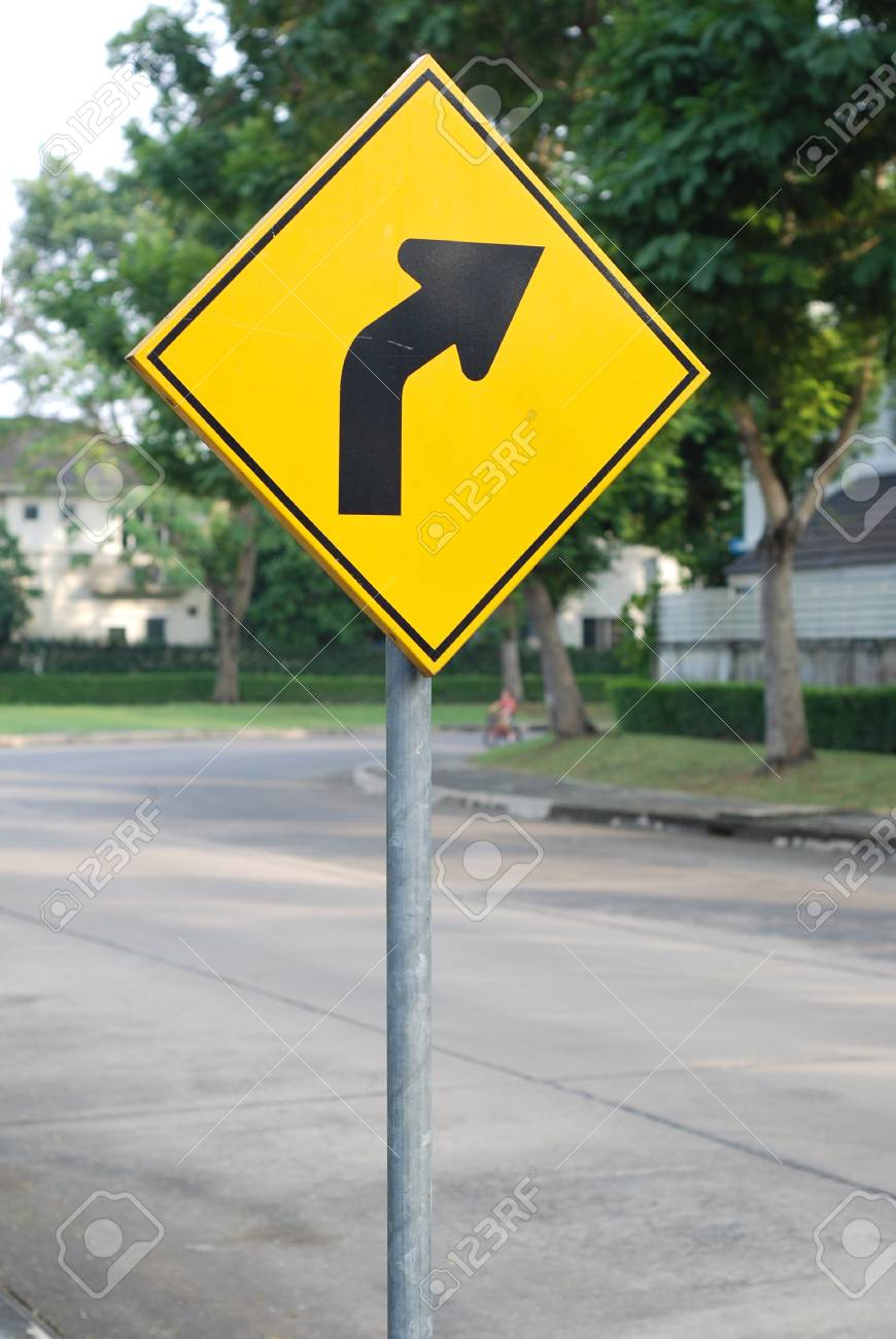 Turn right sign Stock Photo - 10055734