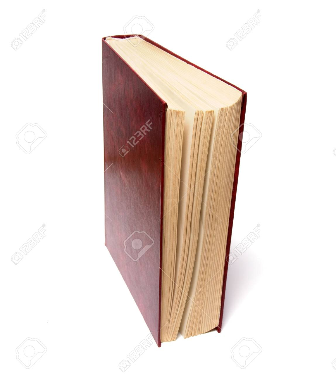 single book isolated on the white background Stock Photo - 3863566