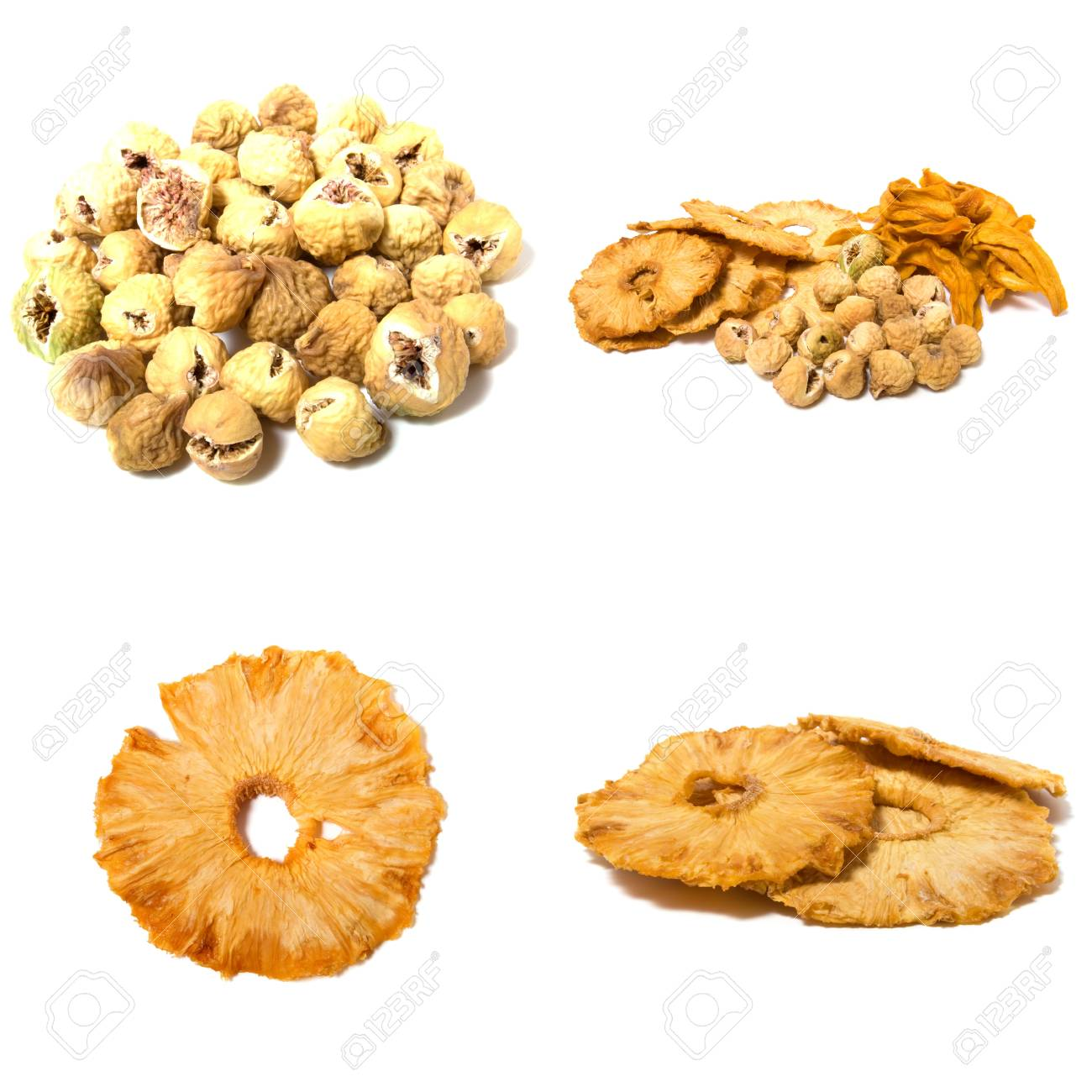 dried fruits assortment isolated on white background Stock Photo - 5982657