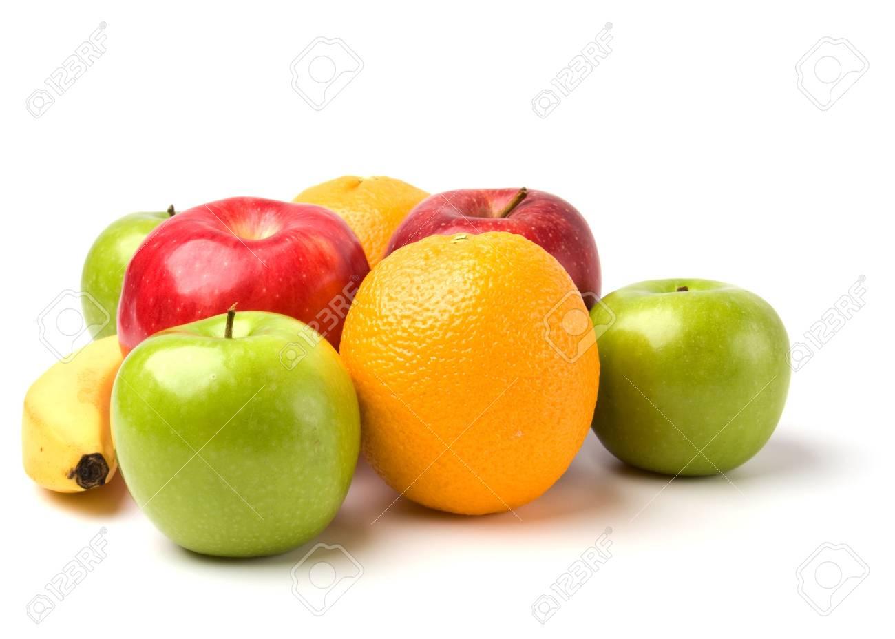 fruits isolated on white background Stock Photo - 6491690