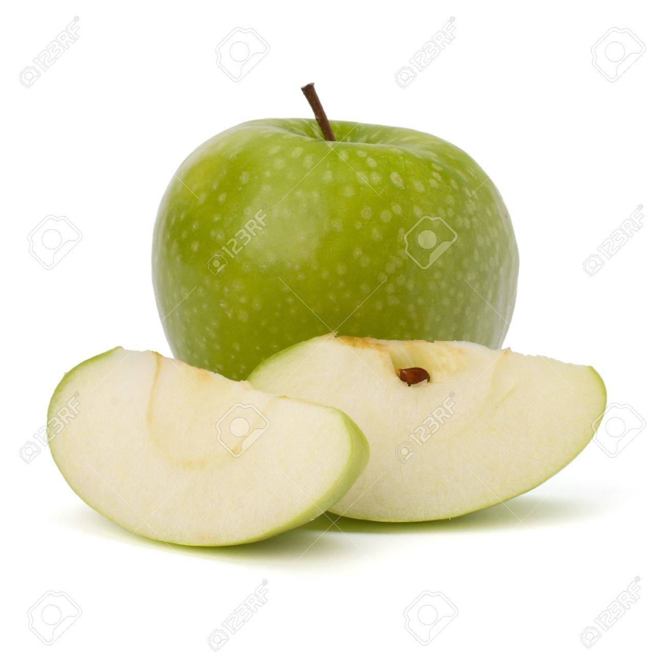 apple isolated on white background Stock Photo - 10406416
