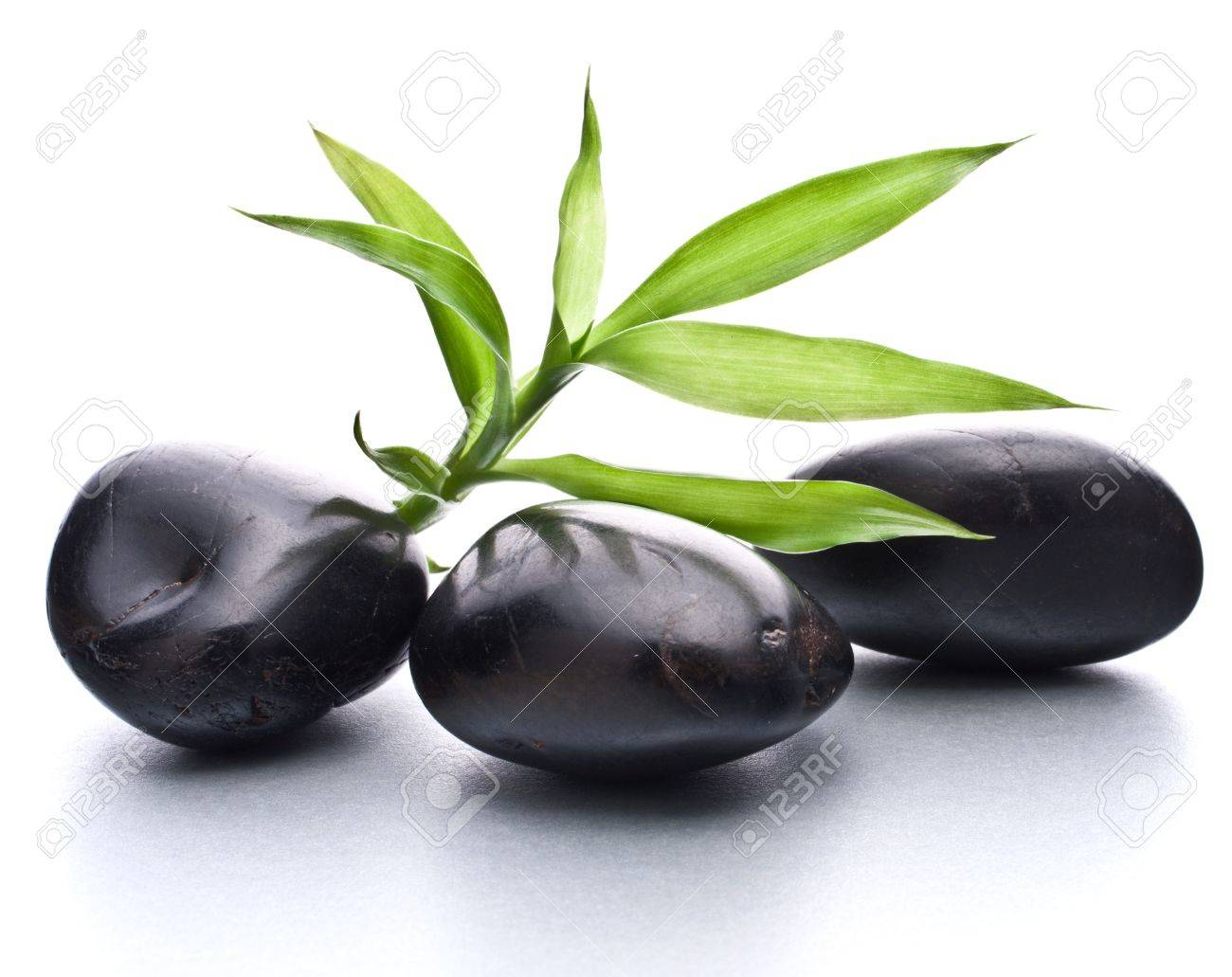 Zen pebbles. Stone spa and healthcare concept. Stock Photo - 13298410