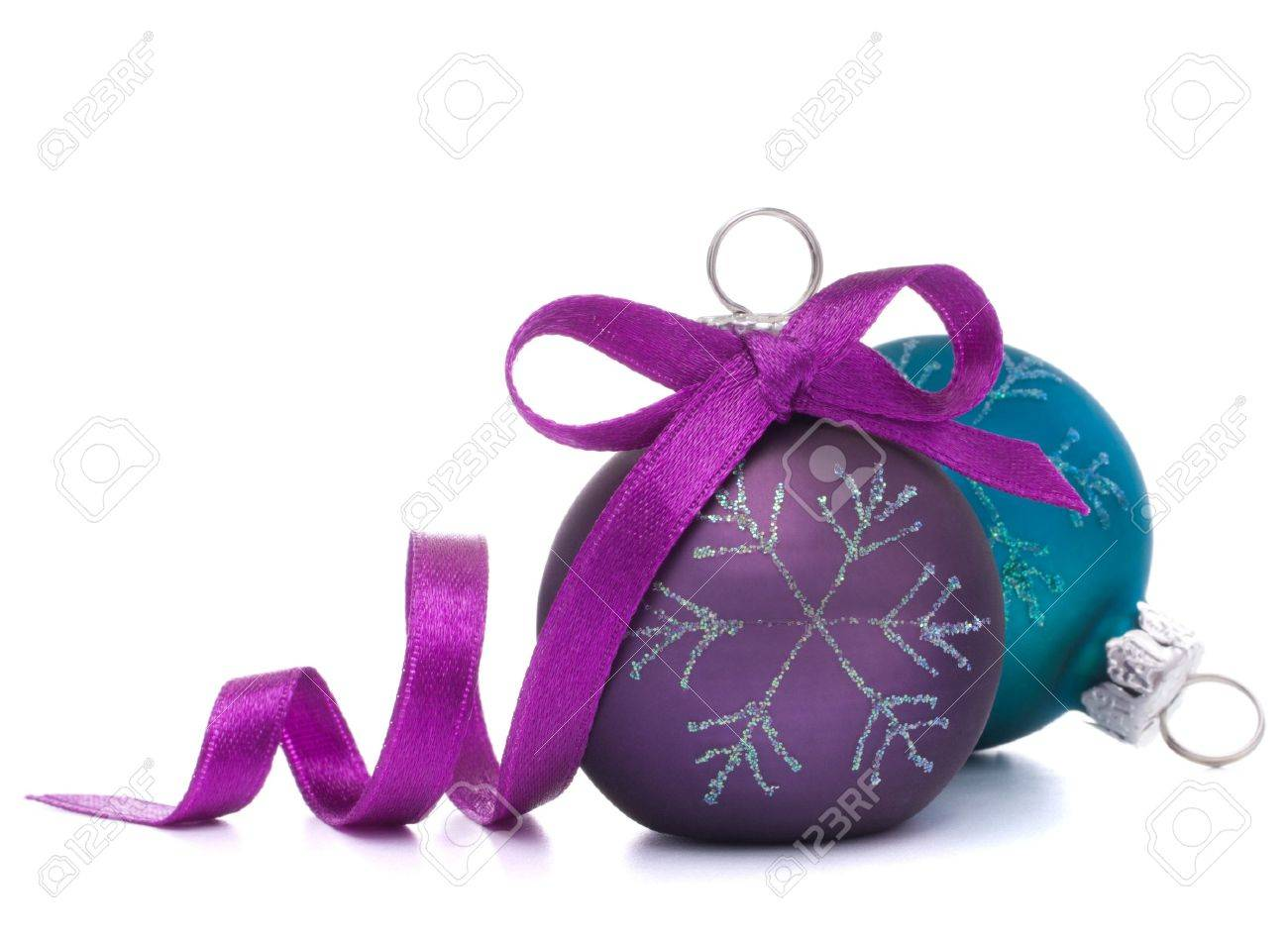 Christmas ball isolated on white background cutout Stock Photo - 16195019