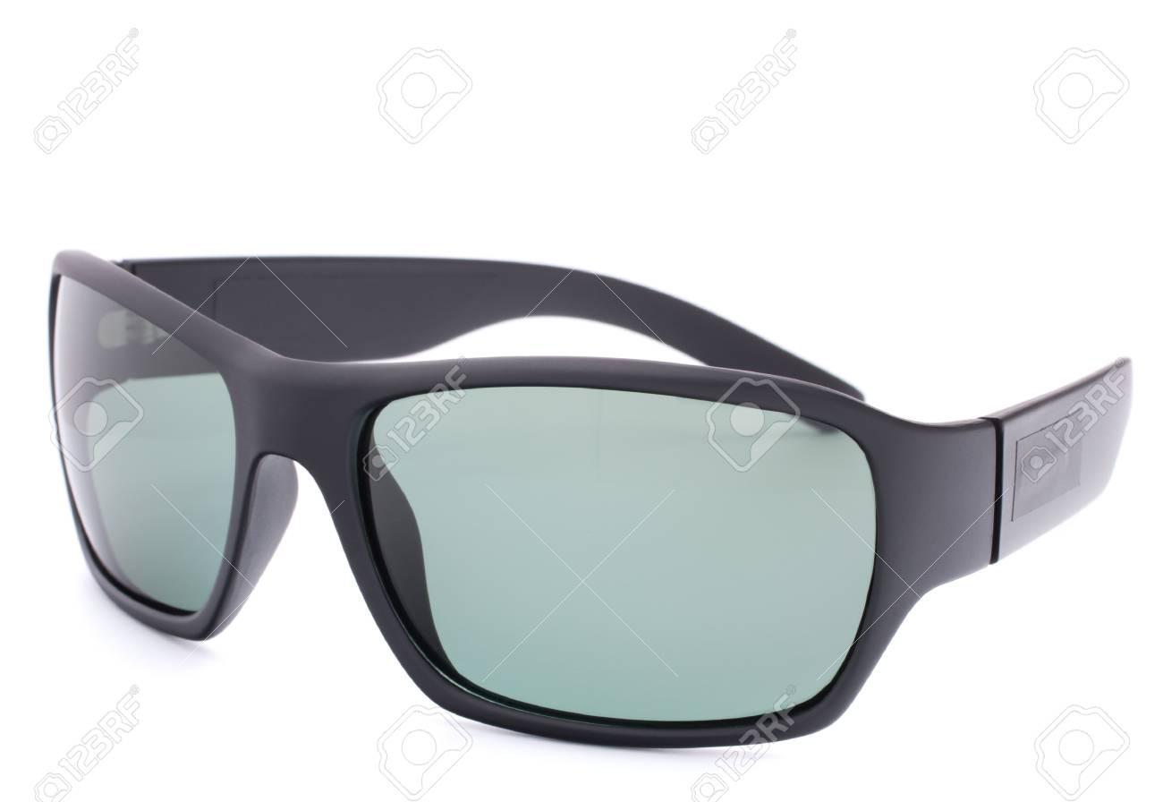 Stylish black sunglasses isolated on white background cutout Stock Photo - 16194951