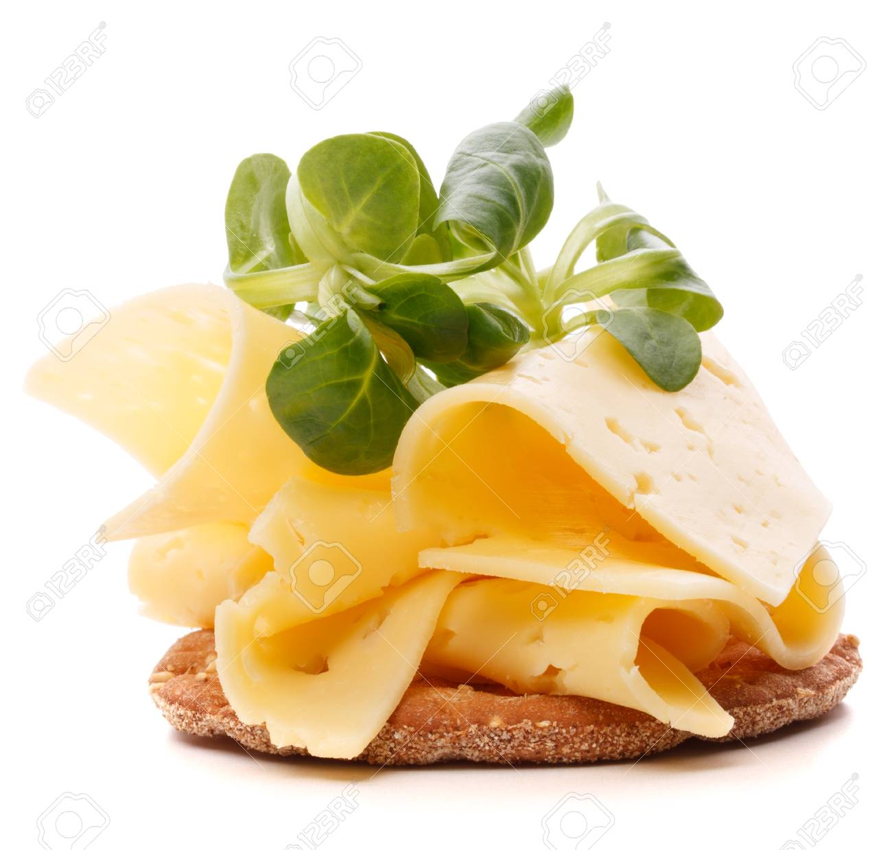 Cheese sandwich isolated on white background - 28551556