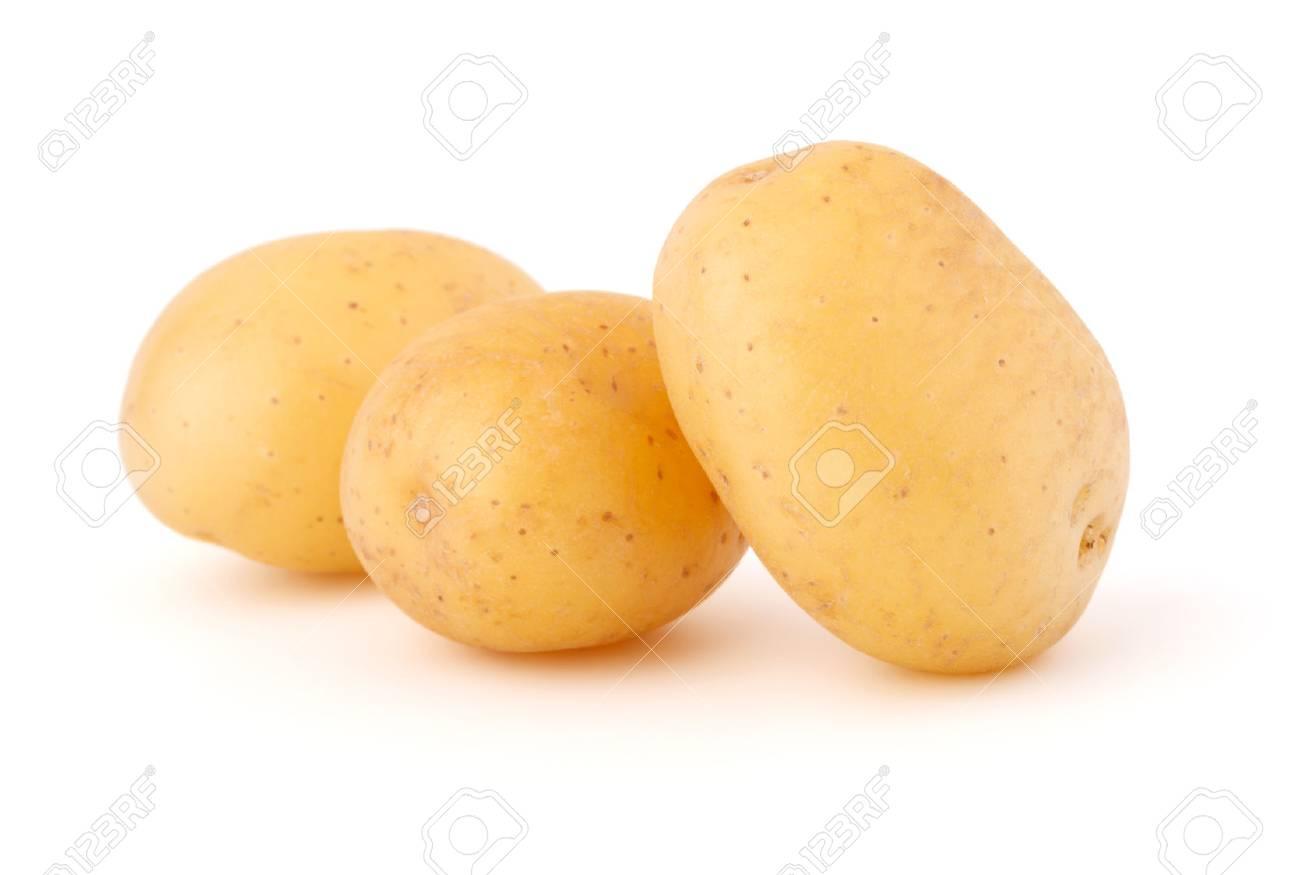 new potato tuber isolated on white background cutout - 30226441