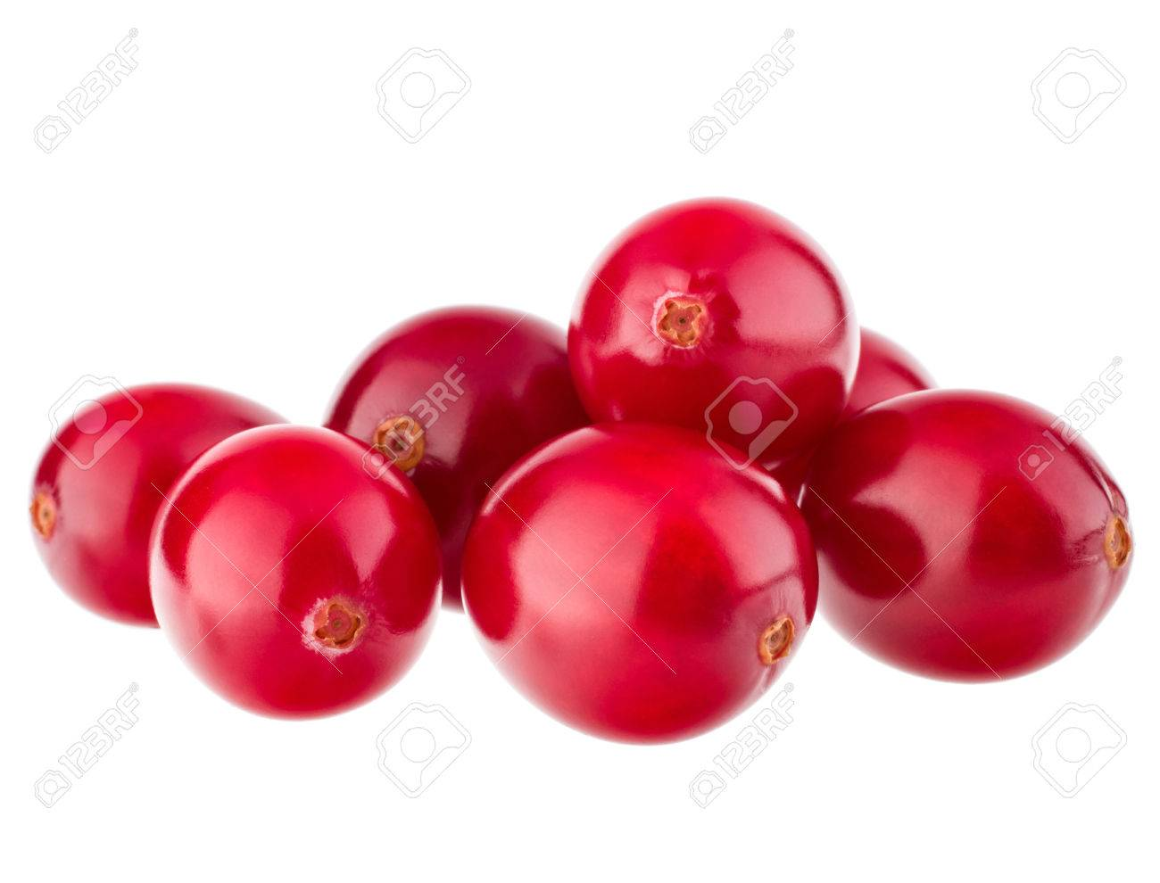 cranberry isolated on white background cutout - 31681795