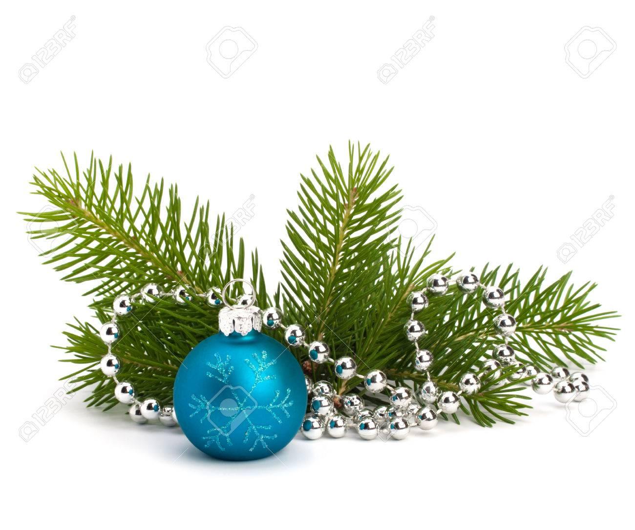 Christmas ball decoration isolated on white background - 33399565