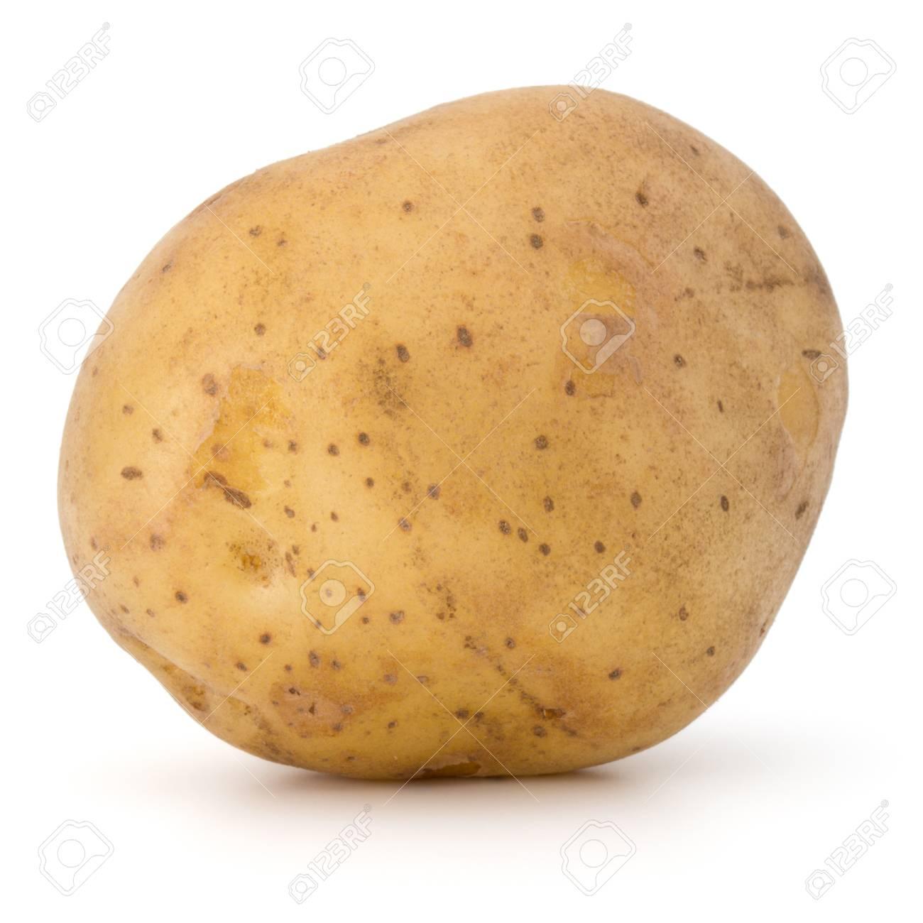 new potato tuber isolated on white background cutout - 45152458