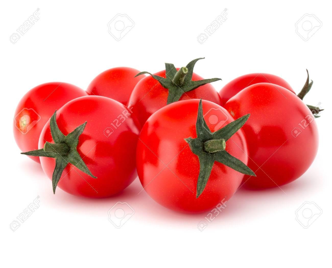 fresh cherry tomato isolated on white background cutout - 51635254