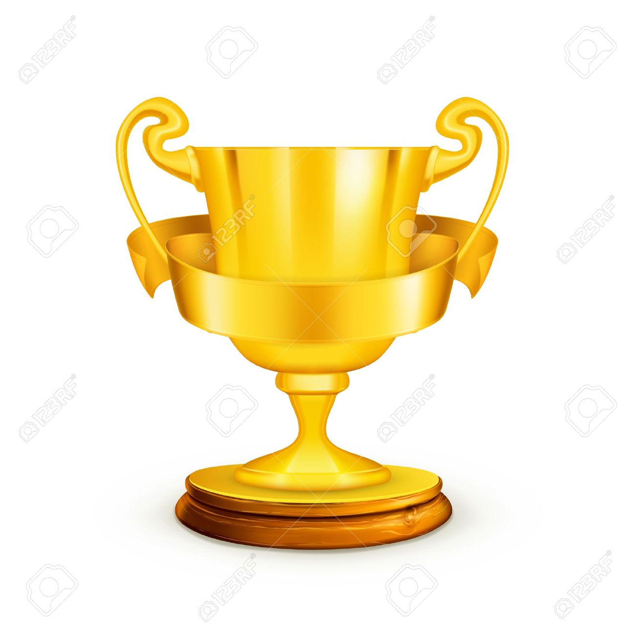 gold trophy illustration royalty free cliparts vectors and stock
