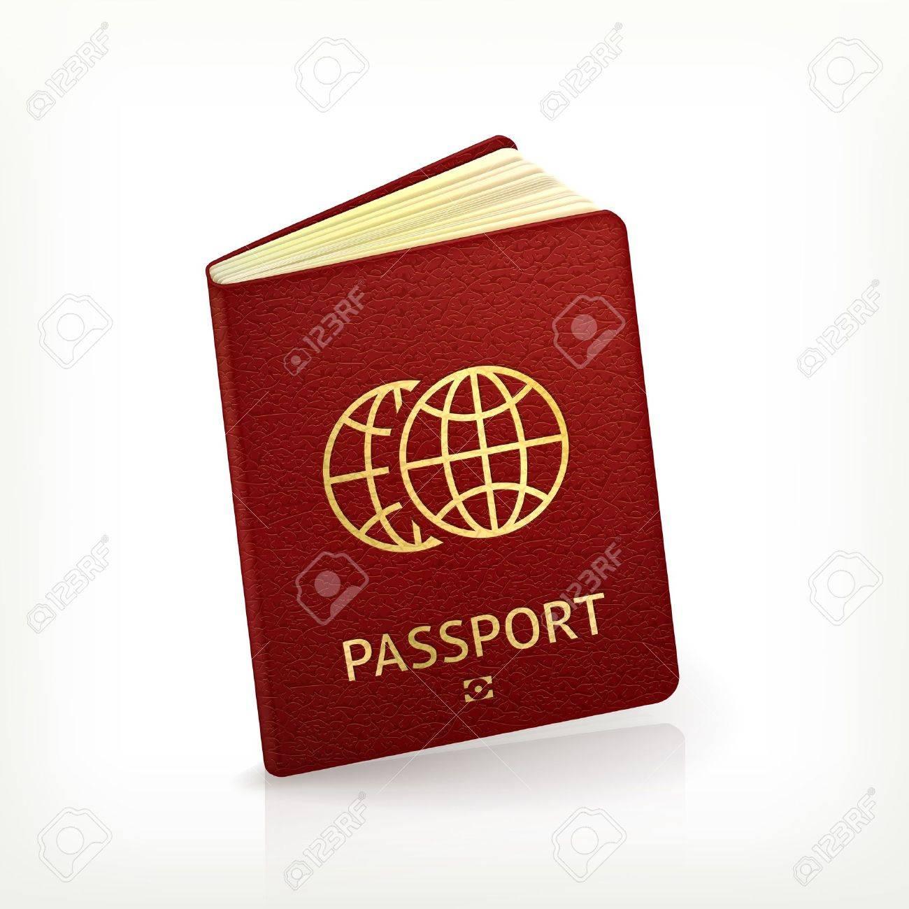 Passport Stock Vector - 13680347