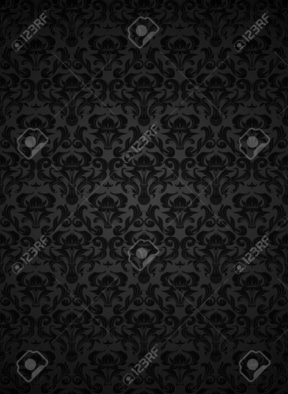 Seamless wallpaper pattern Stock Vector - 13738276