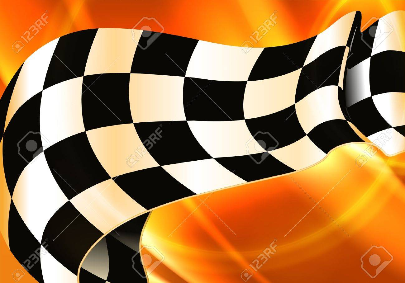 Background Horizontal Checkered Stock Vector - 13739210
