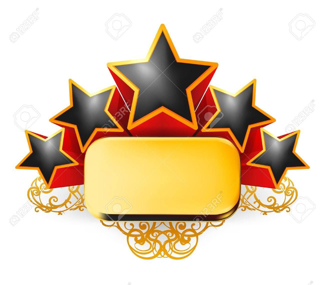 Vintage Emblem Stock Vector - 13739184