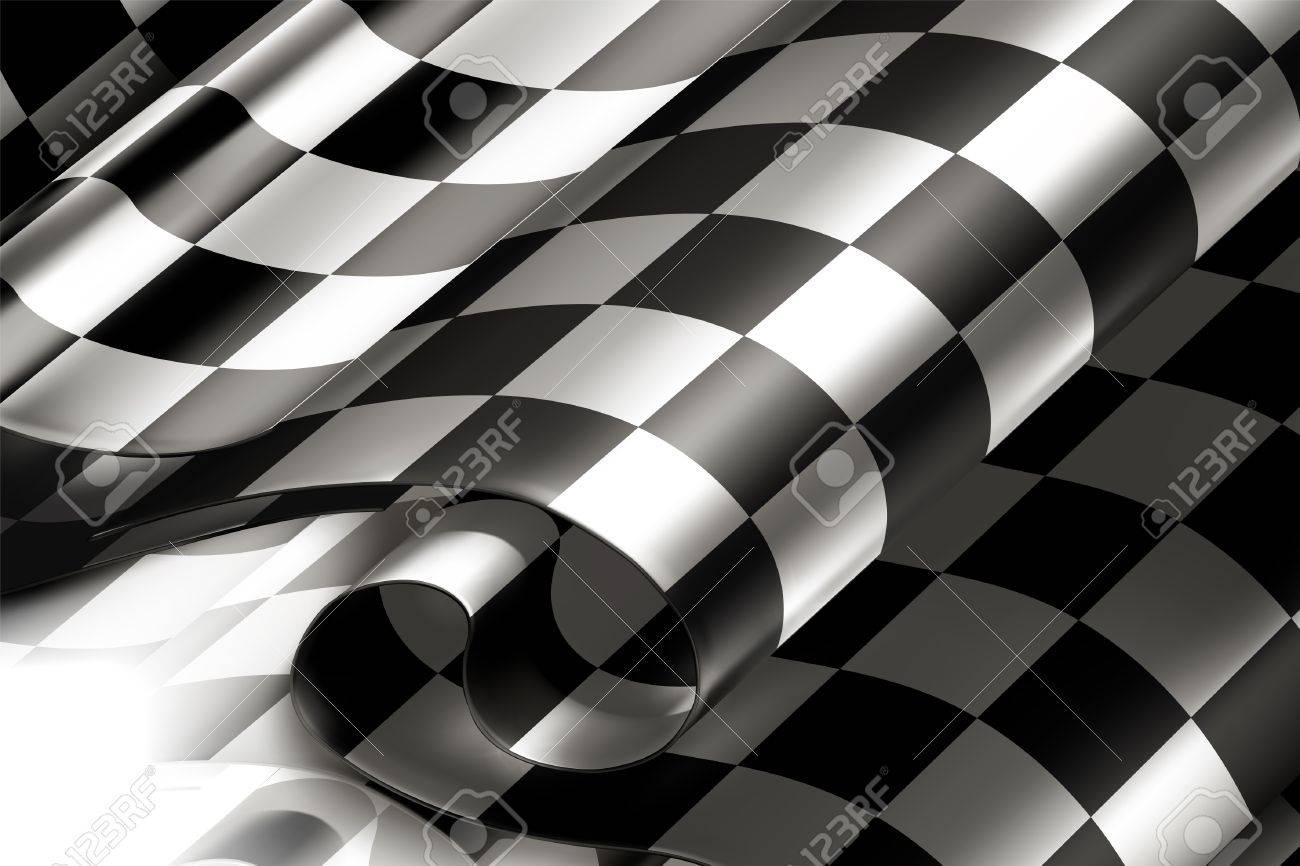 Checkered Background horizontal Stock Vector - 13777228