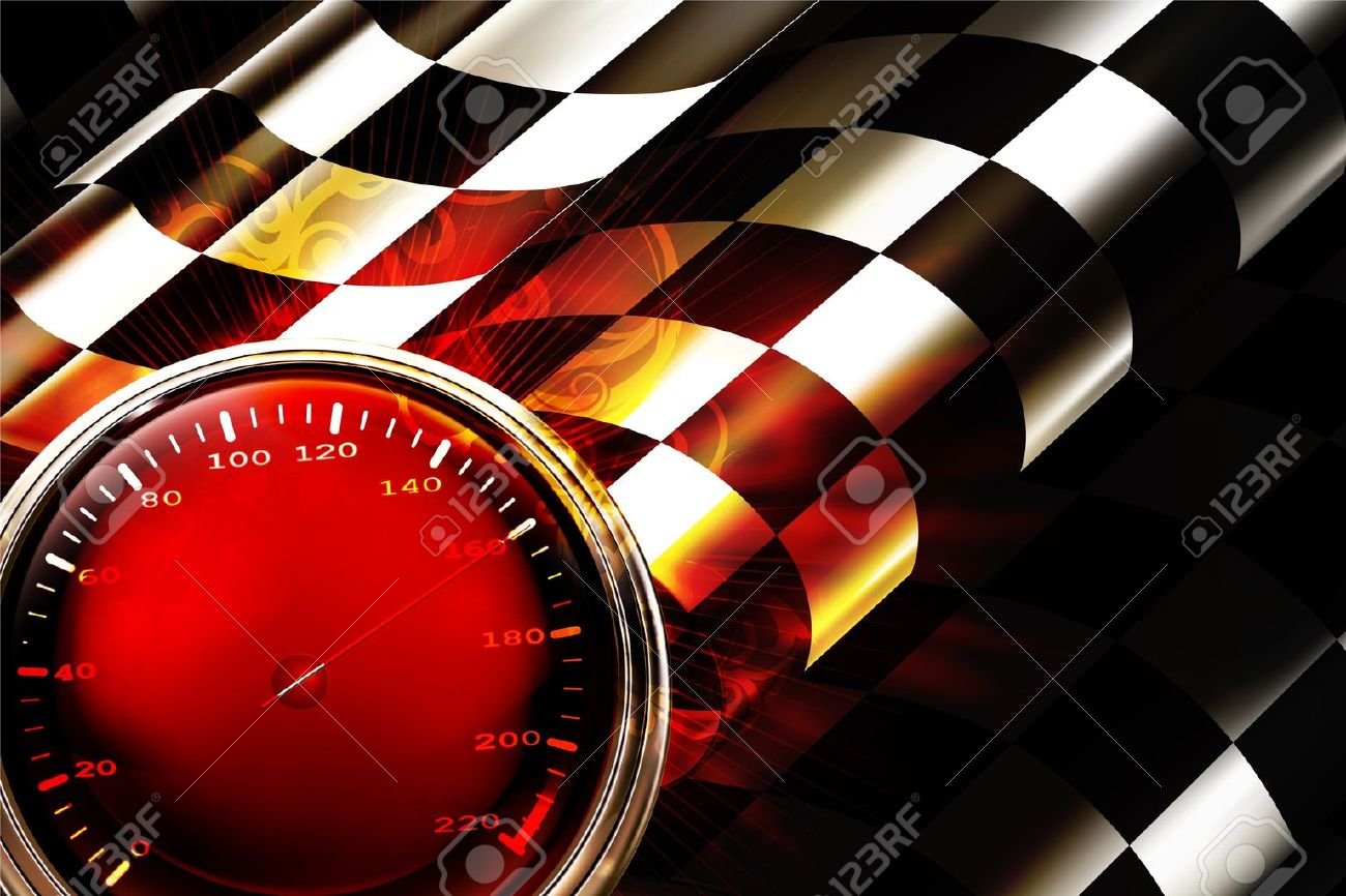 Racing Background Horizontal Stock Vector - 13777267