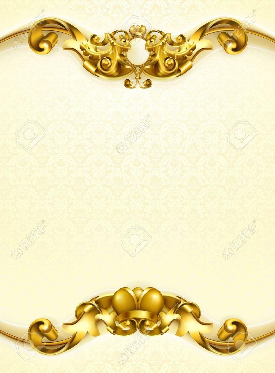 Vintage background white vertical Stock Vector - 13798481