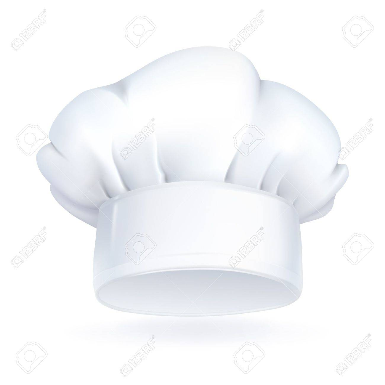 Chef Hat Icon Vector Chef Hat Icon Stock Vector