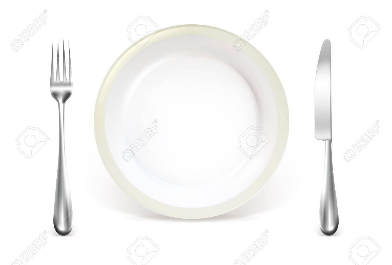 Dinner place setting Stock Vector - 13798515
