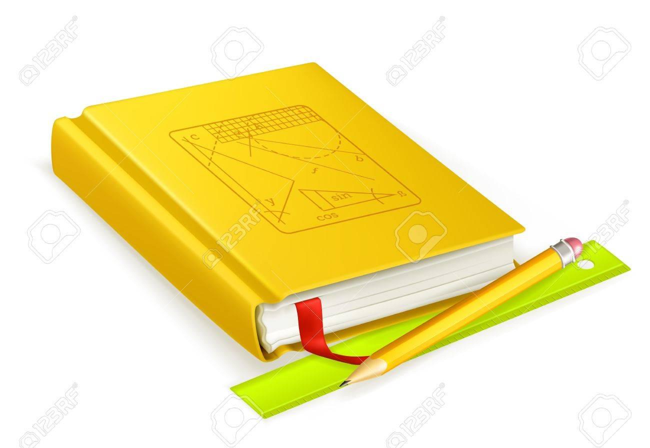 Schoolbook Stock Vector - 13798519