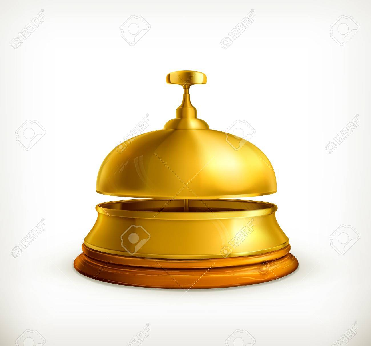 Reception Bell Stock Vector - 13857994
