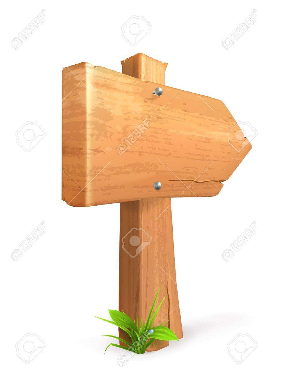 Wood sign Stock Vector - 13868882
