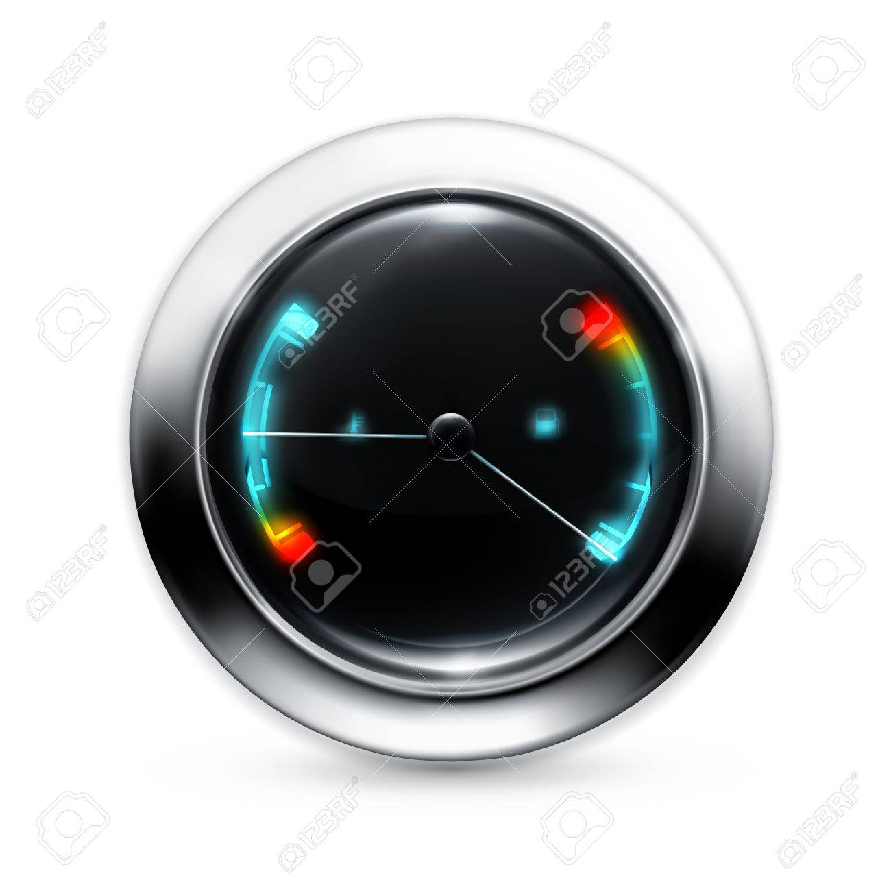 Fuel indicator Stock Vector - 13875693