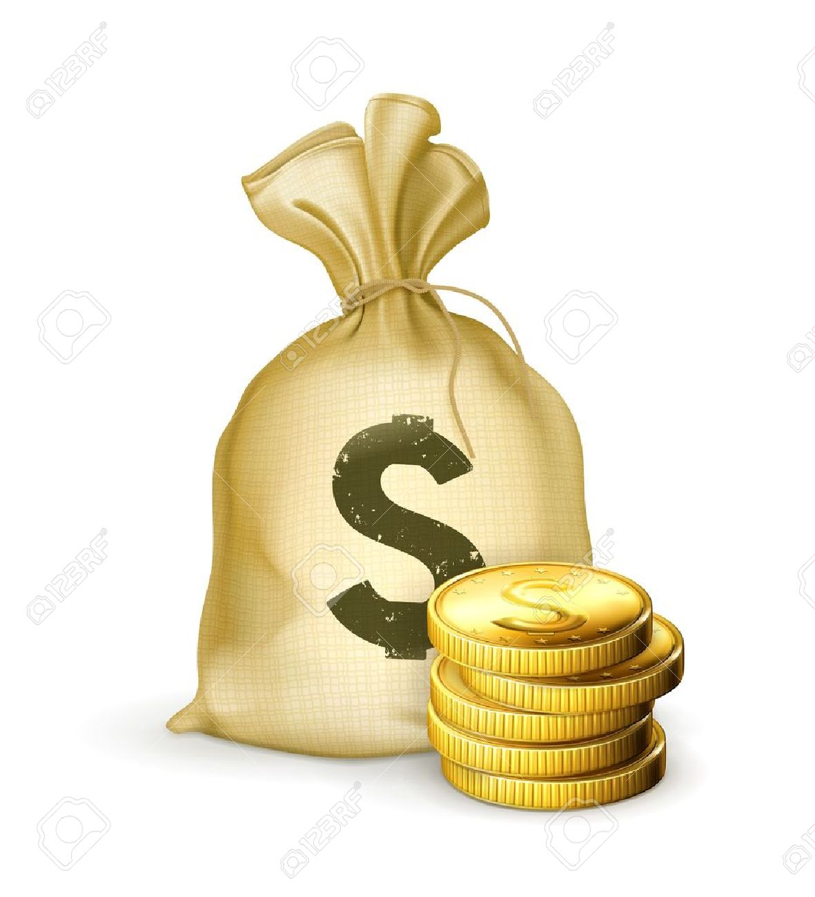 Cash Bag Png Cash Icon Png Dollar Bag Icon