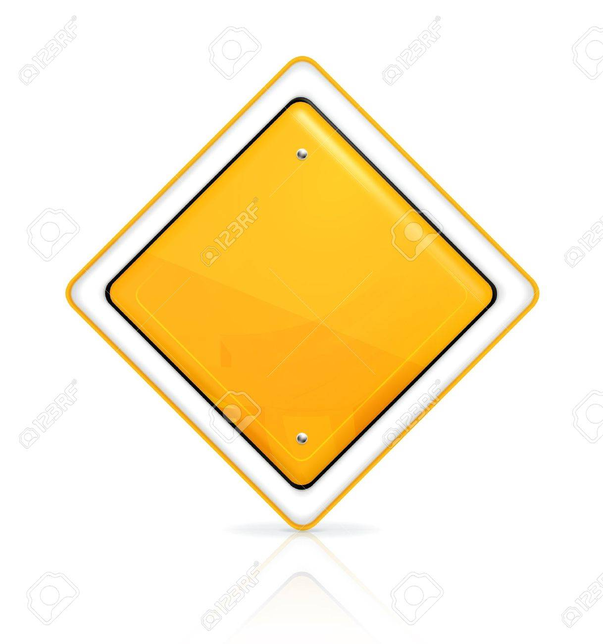 Priority road sign Stock Vector - 13898705
