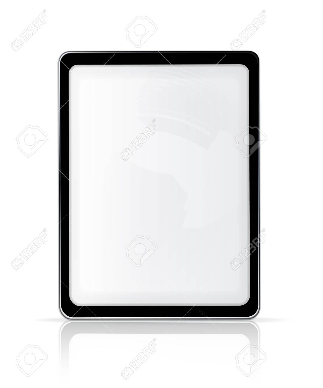 Touch screen, vertical Stock Vector - 13898701