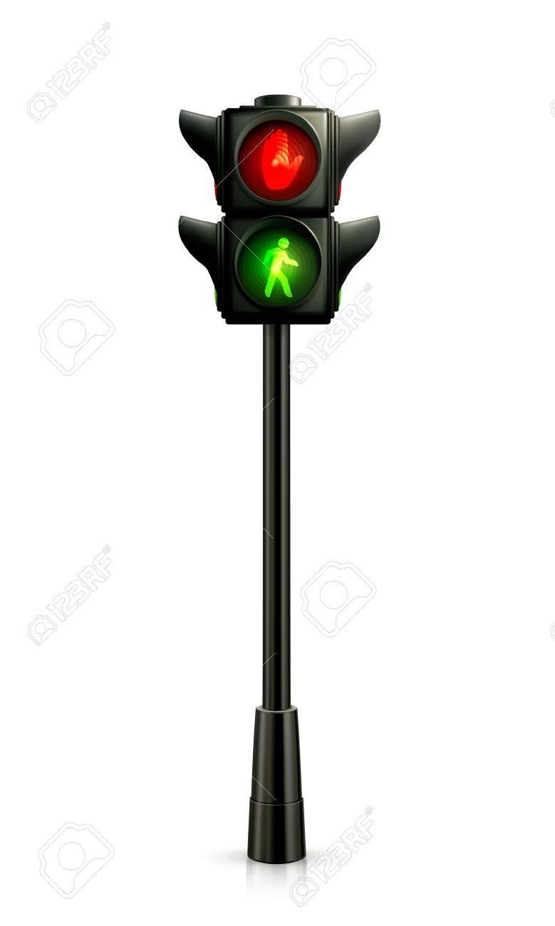 Traffic lights Stock Vector - 13899307