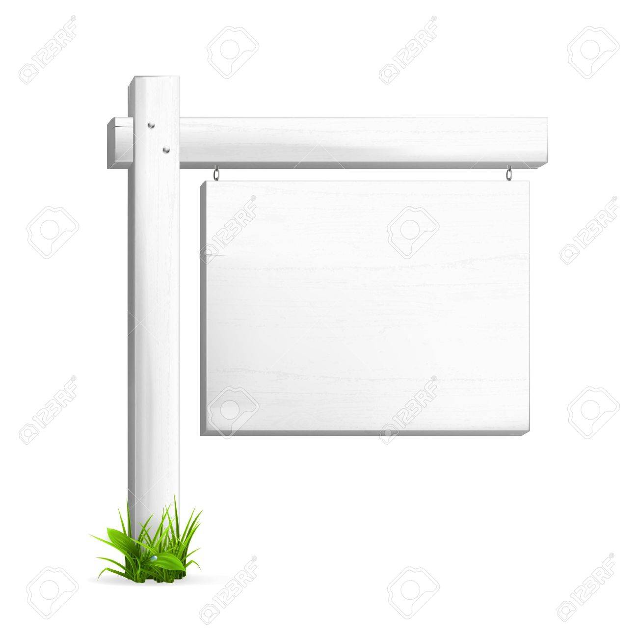 For sale sign Stock Vector - 13899347