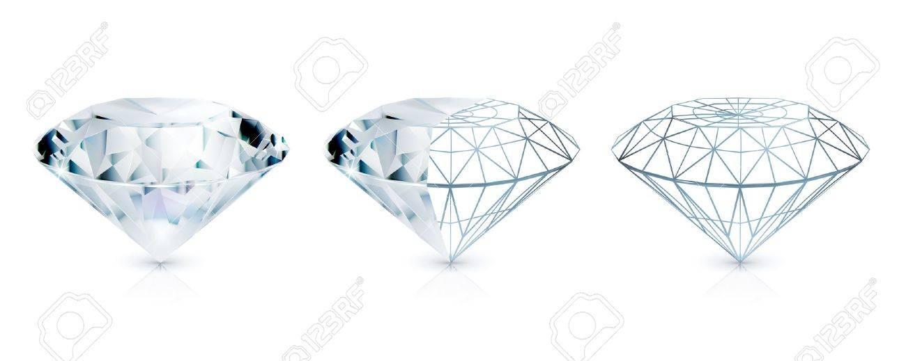 Diamond Stock Vector - 14671574