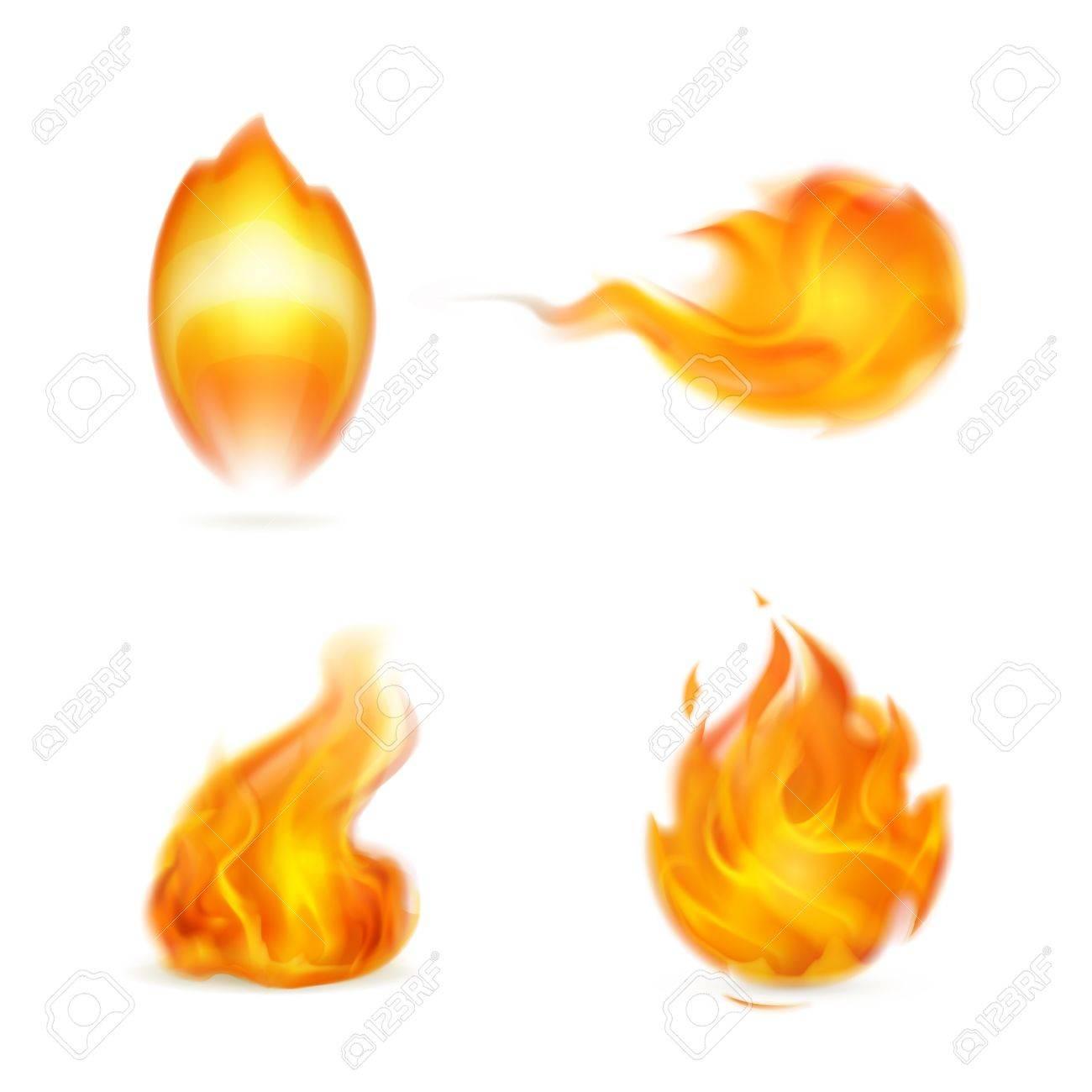 Flame, icon Stock Vector - 16145547
