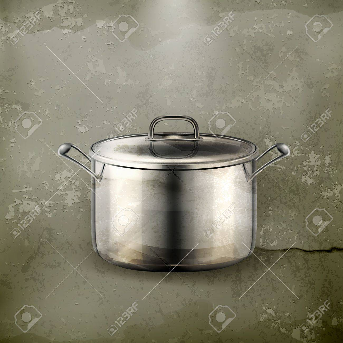 Pan, old-style Stock Vector - 16295492