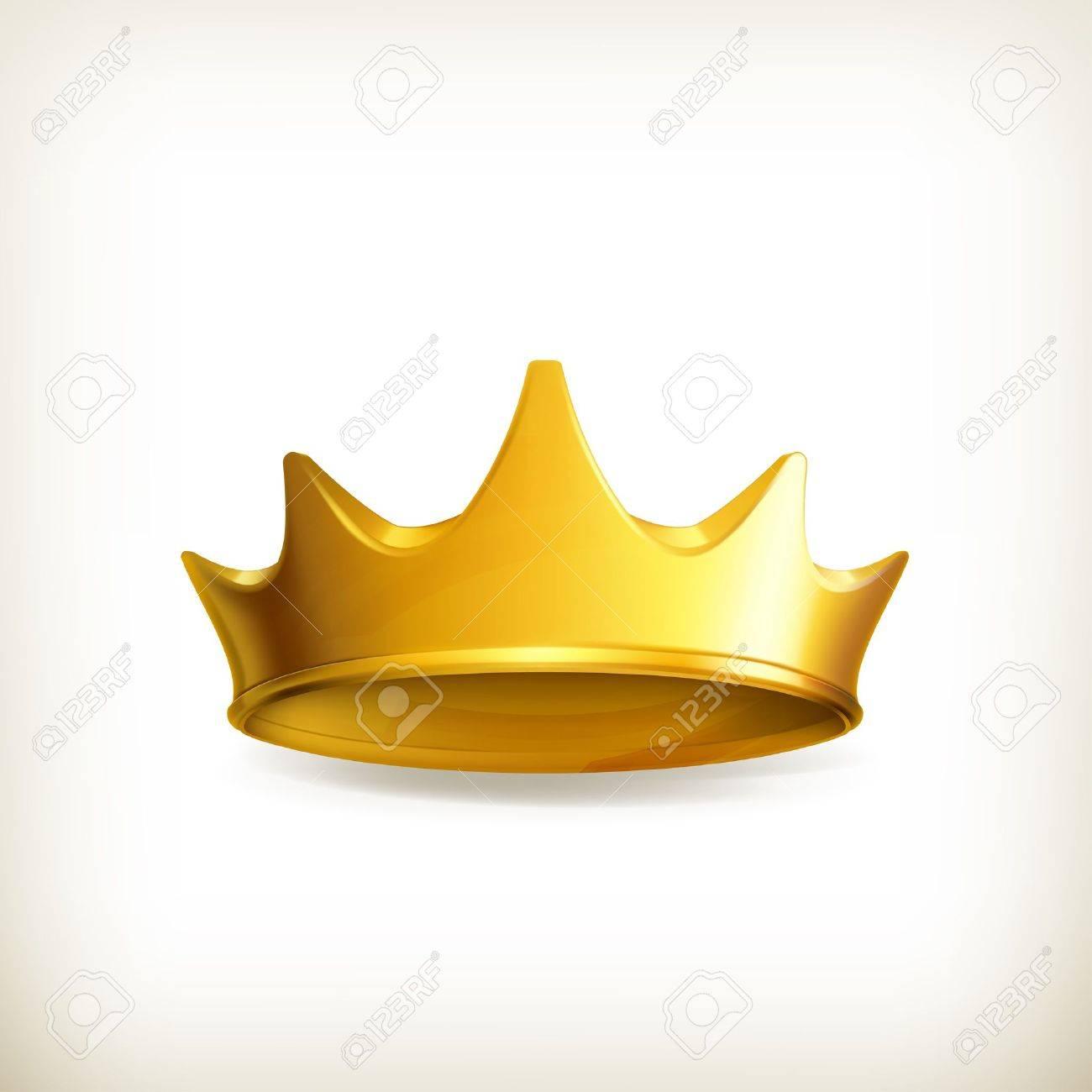 Golden crown Stock Vector - 16728023
