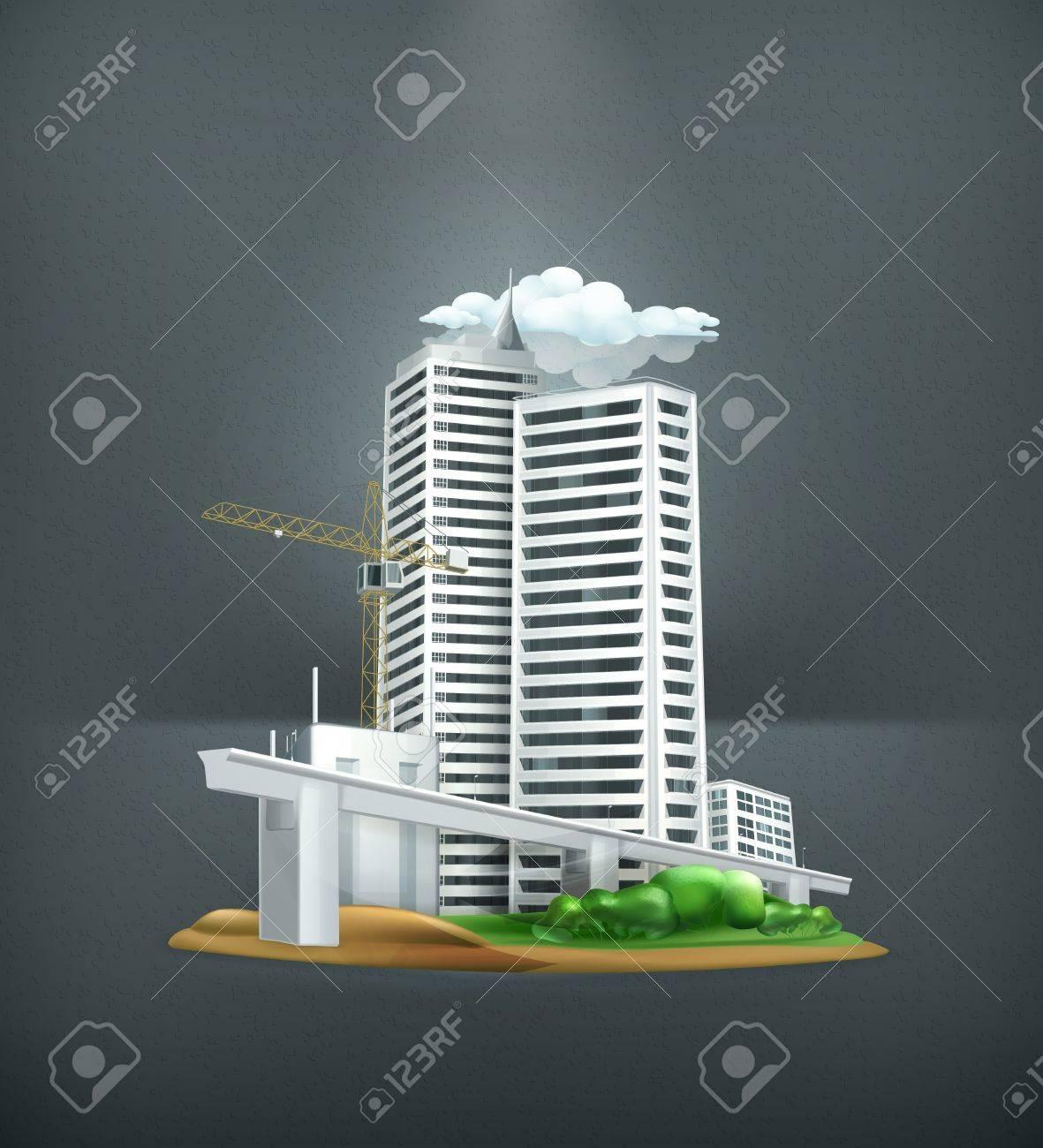 Construction Stock Vector - 19346824