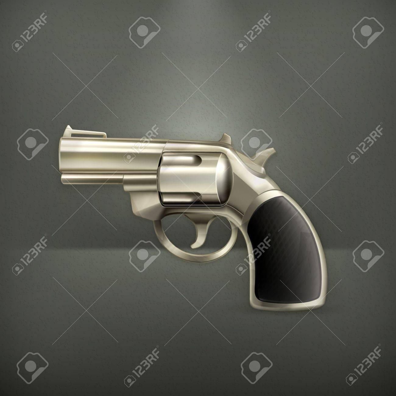 Handgun Stock Vector - 19346637