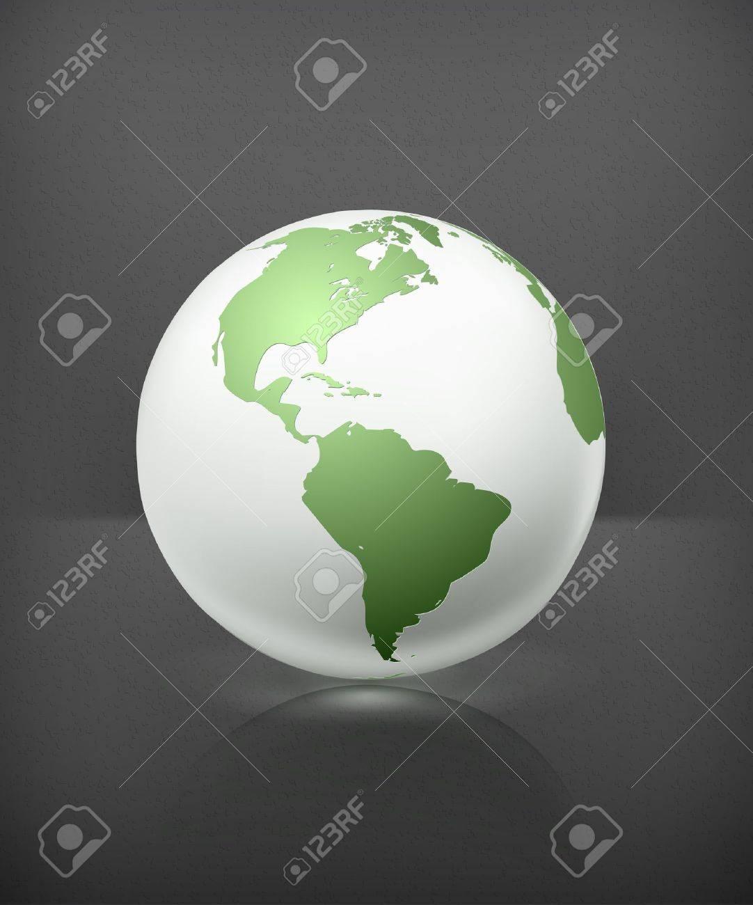 White globe - 19437850