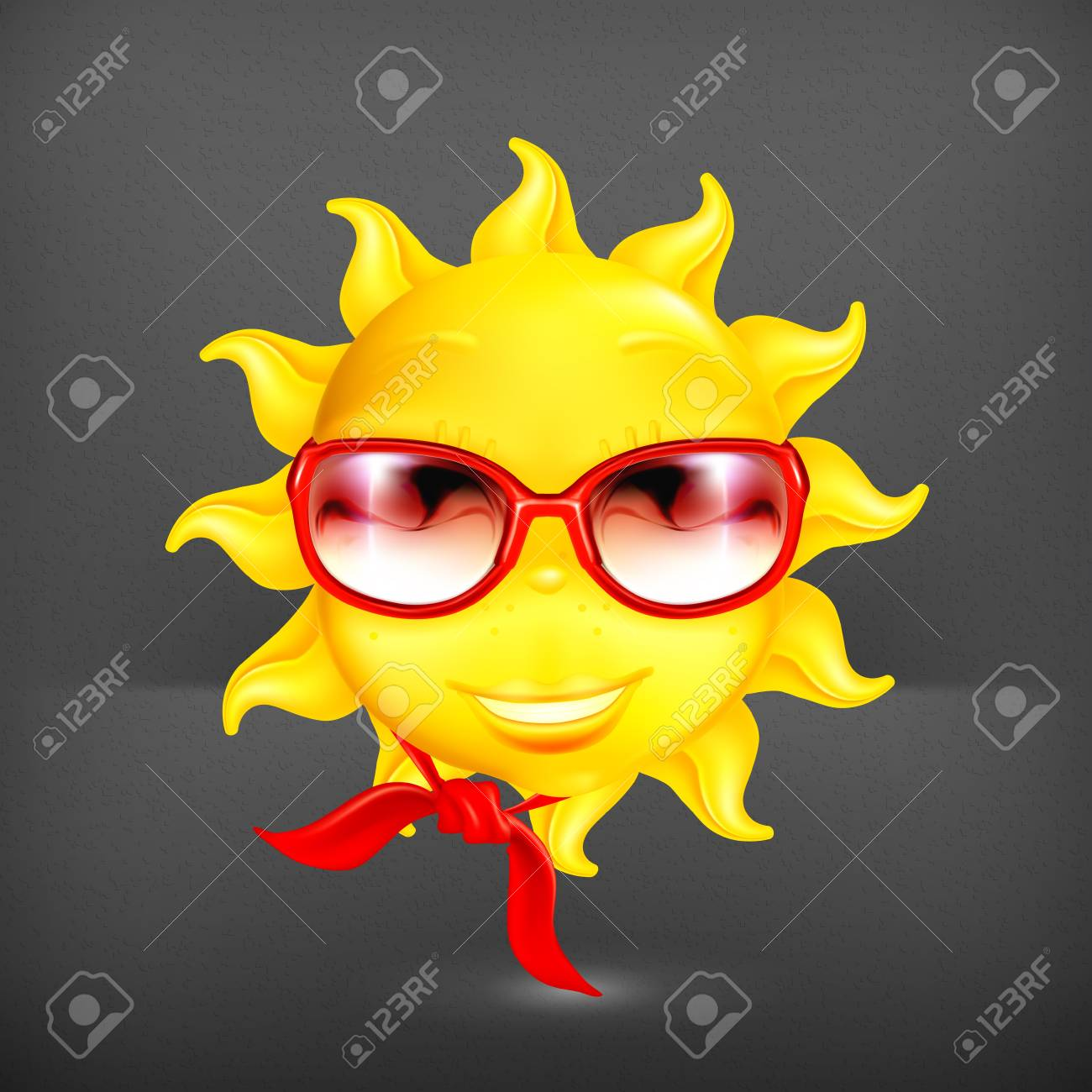 Fun sun Stock Vector - 19474764