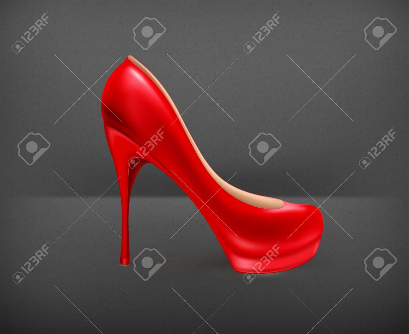 Ladies shoe Stock Vector - 19474382
