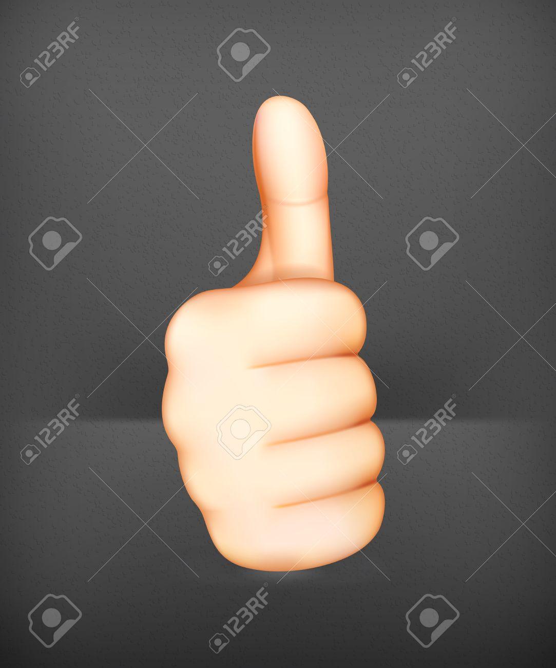 Thumb up Stock Vector - 19713191