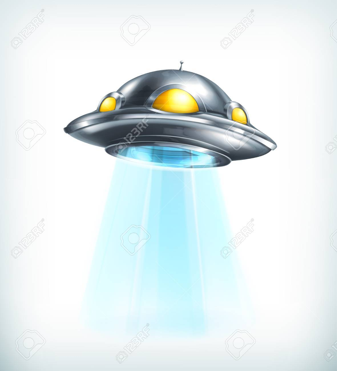 UFO icon Stock Vector - 22197570