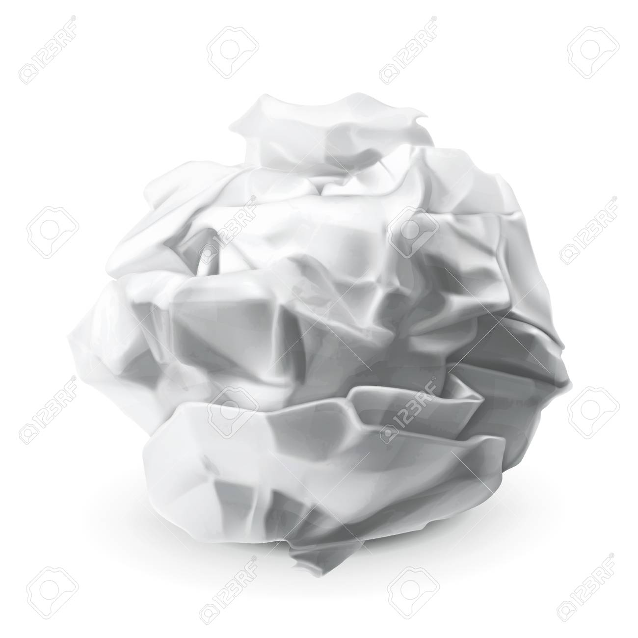crumpled paper royalty free cliparts, vectors, and stock