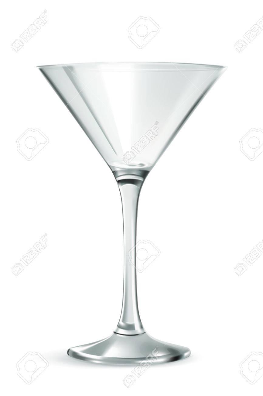 Klassische Martini-Glas, Bar Ware, Notwendige Zubehör Für Partys ...