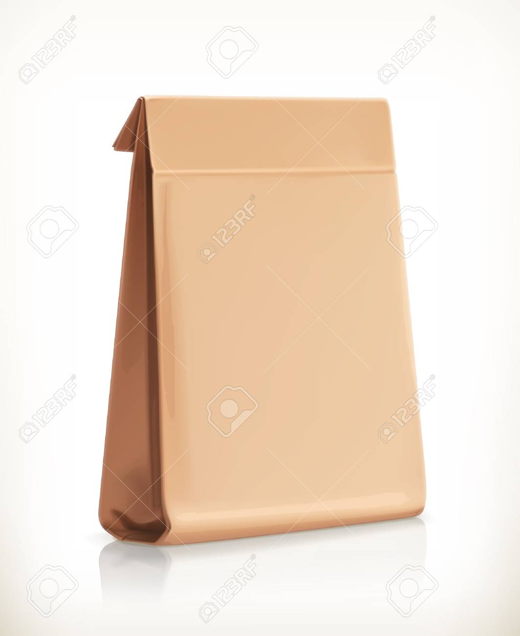 Paper bag vector - Paper Bag Vector Object Stock Vector 33198613
