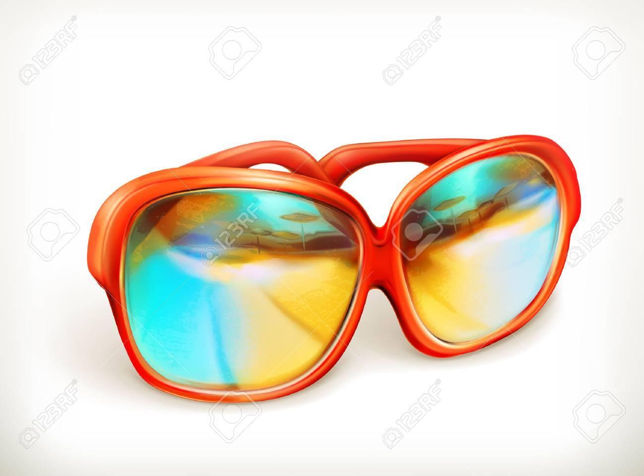 Sunglasses, vector icon Stock Vector - 41233938