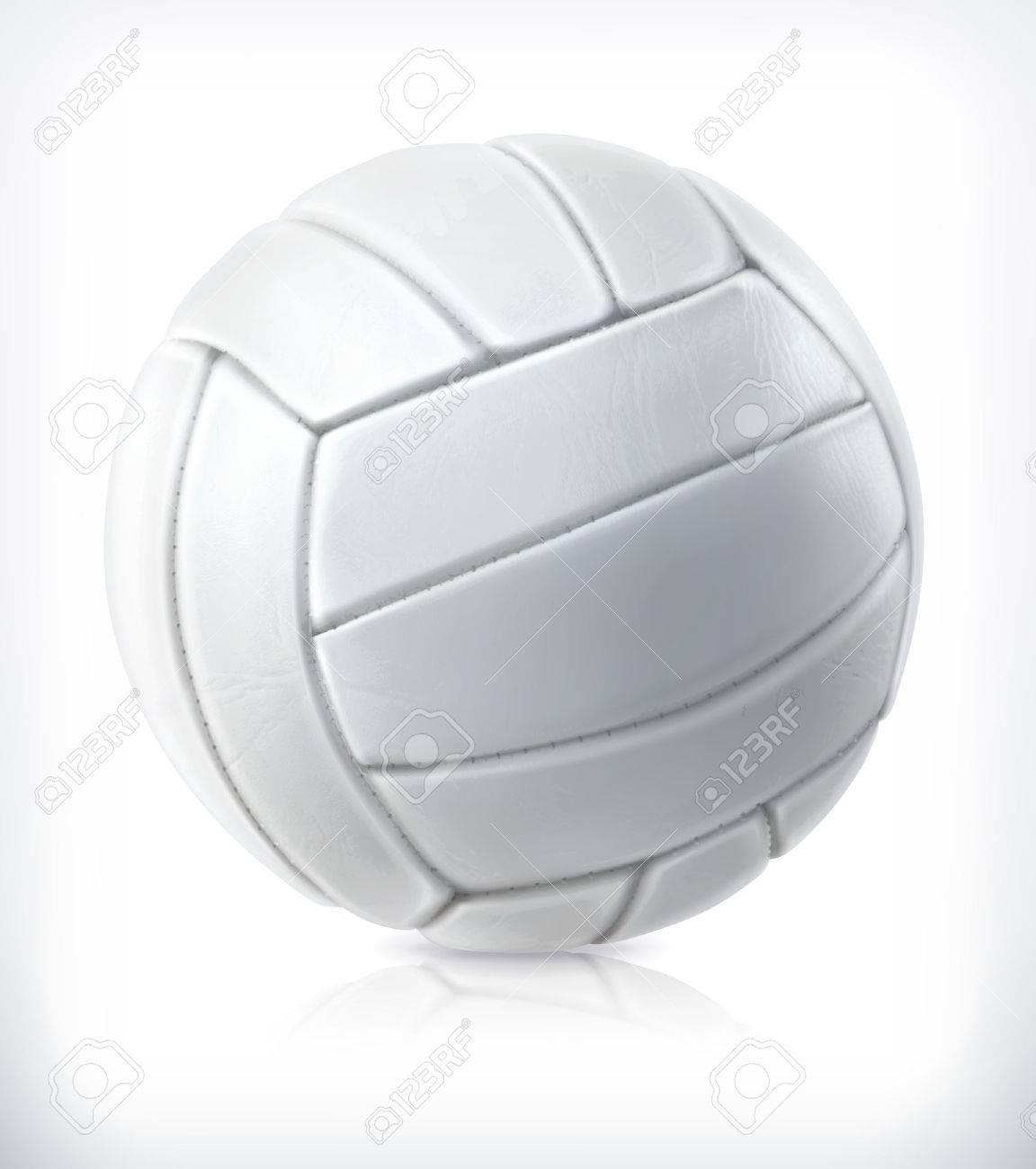 Volleyball, vector icon Stock Vector - 41234185